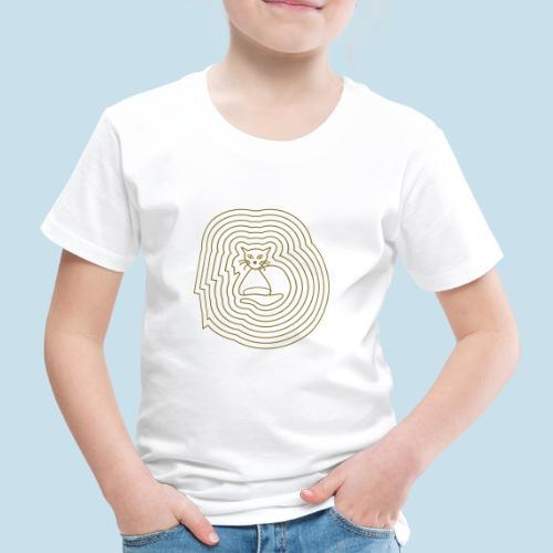 Katzenliebe - Kinder Premium T-Shirt
