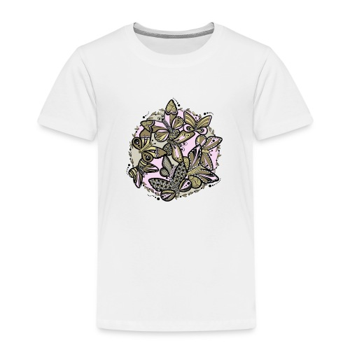 Schmetterlings-Tanz - Kinder Premium T-Shirt
