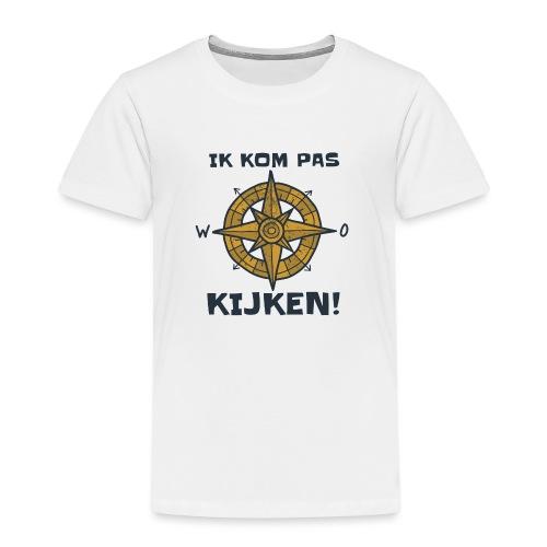 ik kompas kijken - Kinderen Premium T-shirt