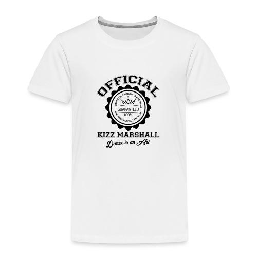 Official kizz marshall Black - T-shirt Premium Enfant