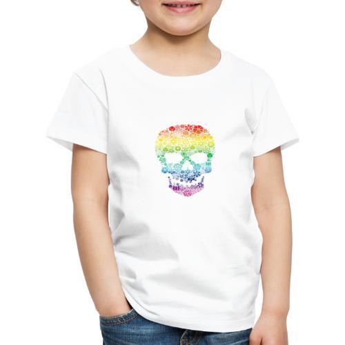 Skull colors - Kids' Premium T-Shirt