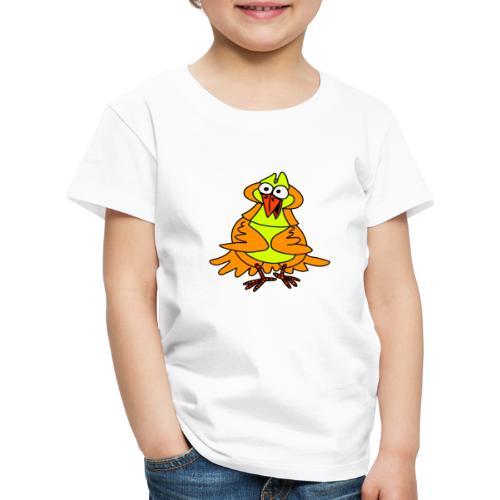 Vogel Nr 3 von dodocomics - Kinder Premium T-Shirt