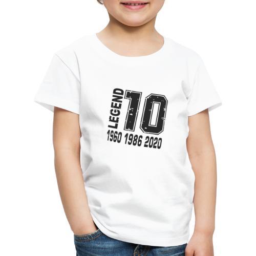 Legend 10 - Camiseta premium niño