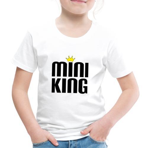 MiniKing Baby Kleinkind Geschenk - Kinder Premium T-Shirt