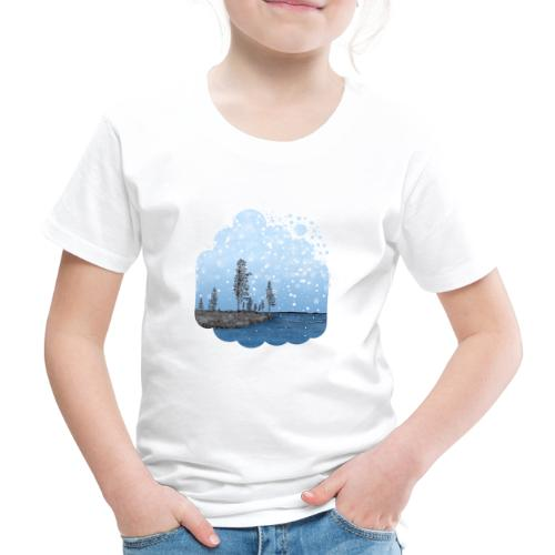 Première neige - T-shirt Premium Enfant