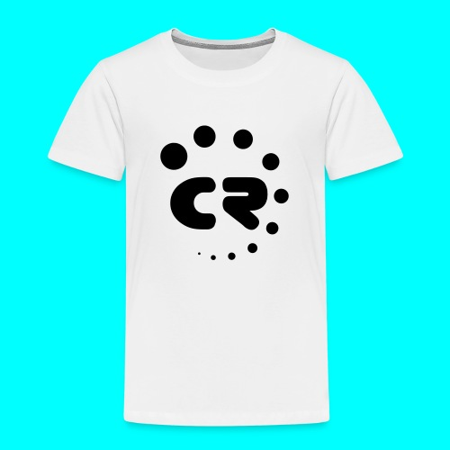 CR black white - Kids' Premium T-Shirt