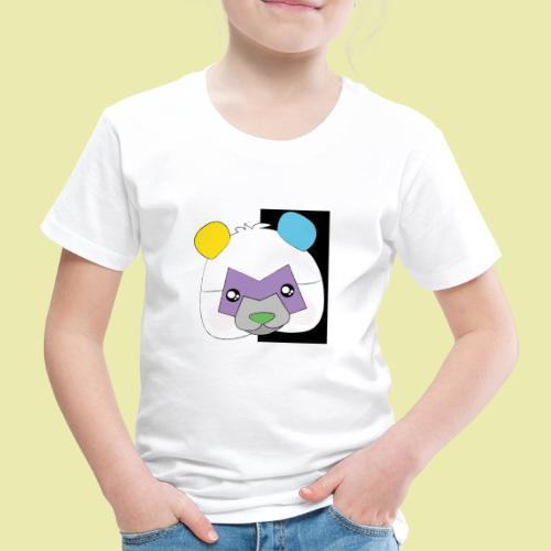Cute popular Panda with many colors! - Premium T-skjorte for barn