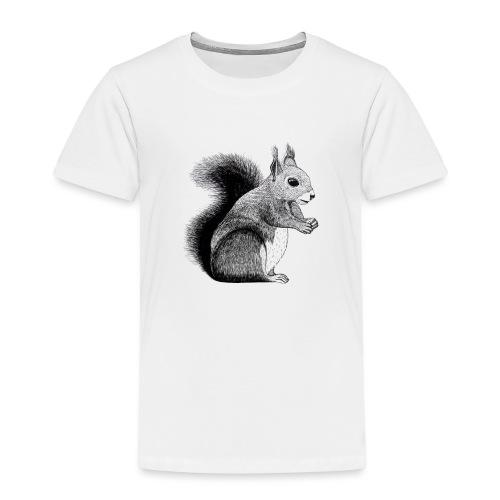 Eichhörnchen Tier Süß Bild Kinder Wald - Kinder Premium T-Shirt