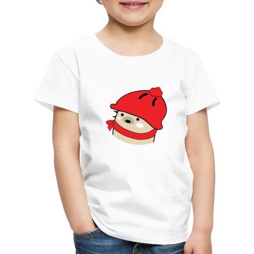 Mochie winter hat s - Kids' Premium T-Shirt