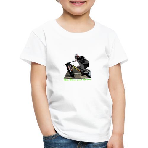 Ride Free and Green merch - Kids' Premium T-Shirt