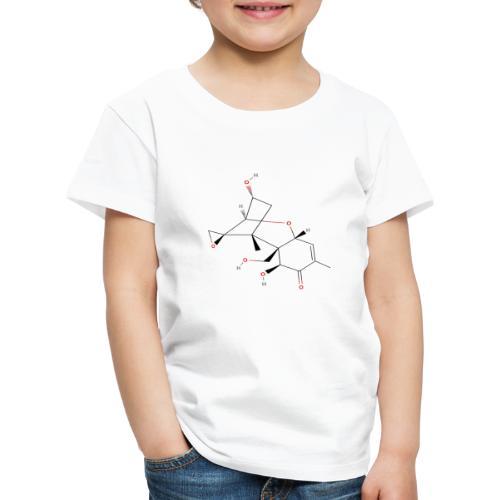 Vomitoxin Molecule - Colored Structural Formula - Børne premium T-shirt