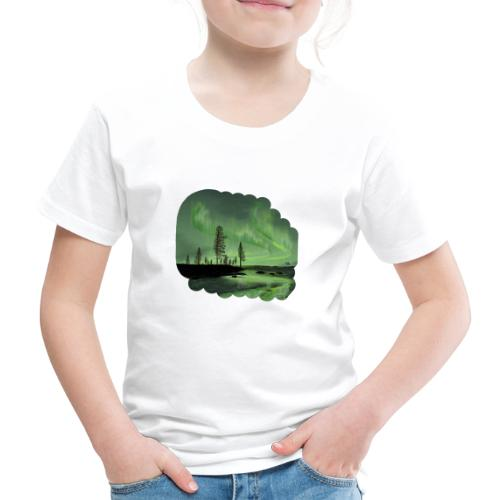 Noorderlicht reflectie - T-shirt Premium Enfant