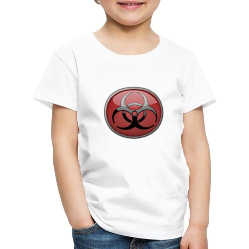 DANGER BIOHAZARD - Kinder Premium T-Shirt
