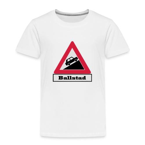 brattv ballstad a png - Premium T-skjorte for barn