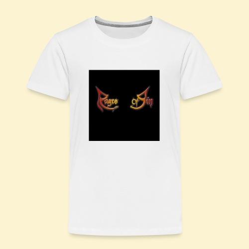 Logo flipflops - Kinderen Premium T-shirt