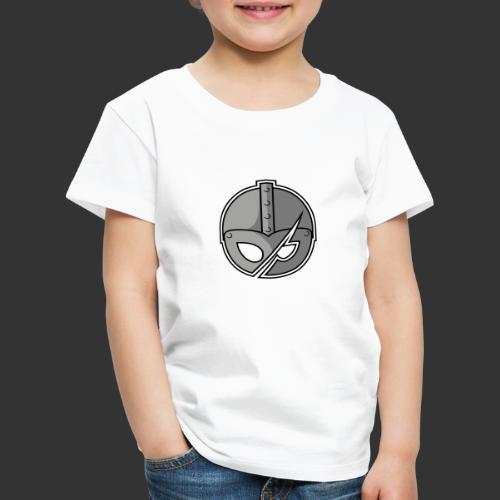 Slashed Helmet - Kids' Premium T-Shirt