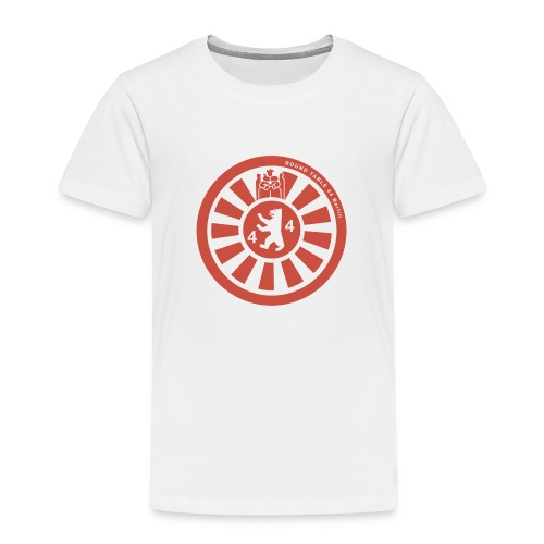 Logo RT44 Berlin 2016 pure red 4000px png - Kinder Premium T-Shirt