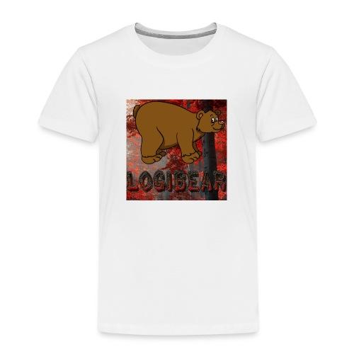 Male Logi Bear Shirt - Kids' Premium T-Shirt