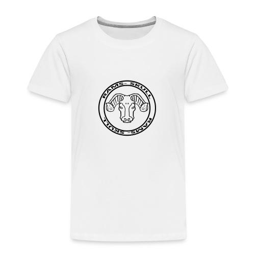 RamSkull Apparell Grey pullover hoodie - Kids' Premium T-Shirt