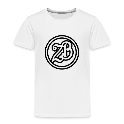 ZB Vlogs Hat - Graphite/Black - Kids' Premium T-Shirt