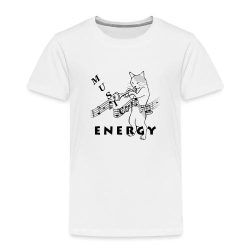 Music-Is-Energy - Kids' Premium T-Shirt