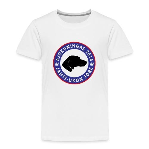 Ajokuningas t-paita - Lasten premium t-paita