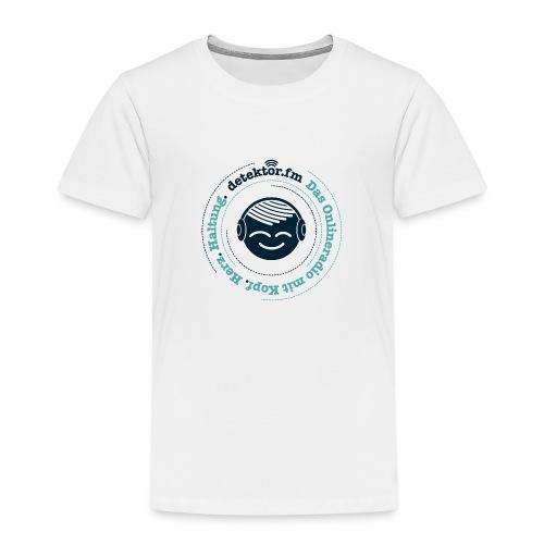 Radio mit KopfHerzHaltung - Kinder Premium T-Shirt