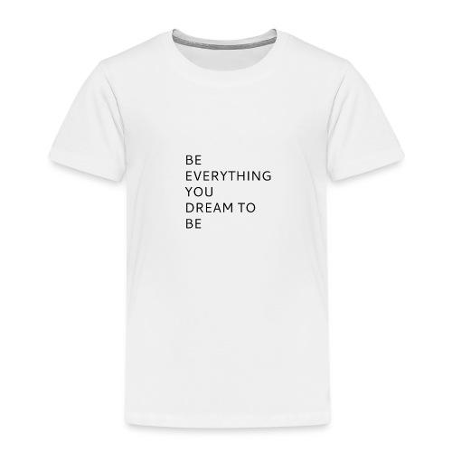 Dreamer - Lasten premium t-paita