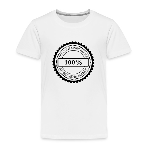 Tampon DIY Container House, Approved by Maker - T-shirt Premium Enfant