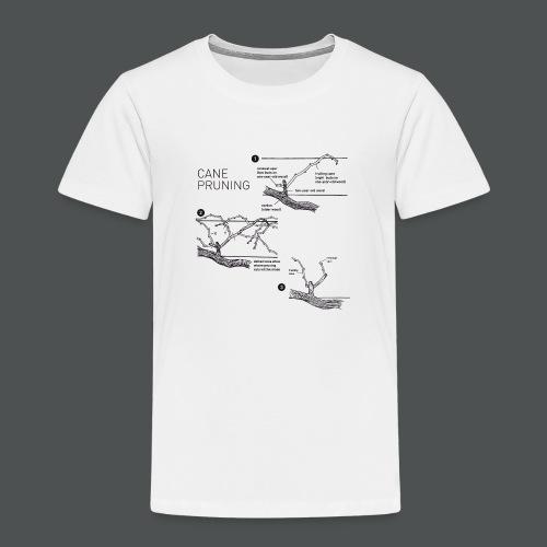 Cane Pruning - Premium T-skjorte for barn