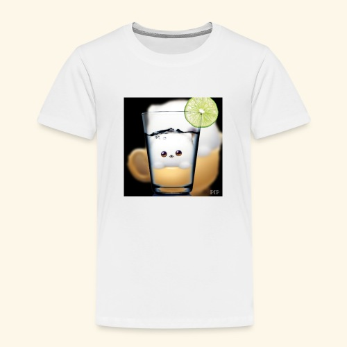 süsses kätzchen im glas - Kinder Premium T-Shirt