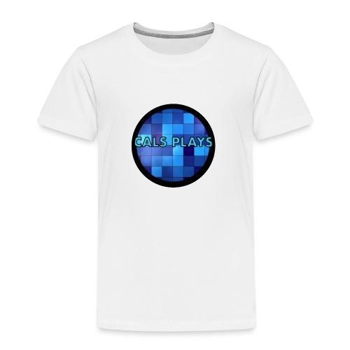 Cals Plays Logo - Kids' Premium T-Shirt