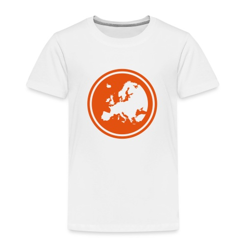 EGEA logo circle - Kids' Premium T-Shirt