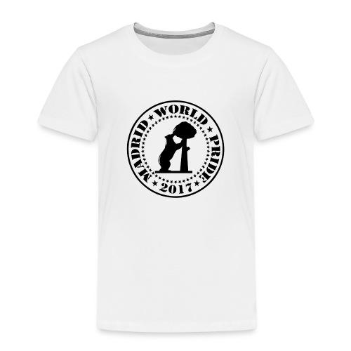 MADRID WORLD PRIDE 2017 - Camiseta premium niño