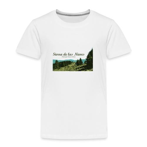Sierra de las Nieves Parque Nacional - Camiseta premium niño
