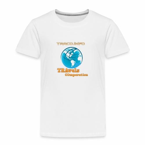 TRAvels Comparation - Maglietta Premium per bambini