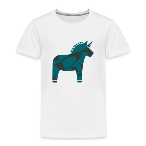 Swedish Unicorn - Kinder Premium T-Shirt
