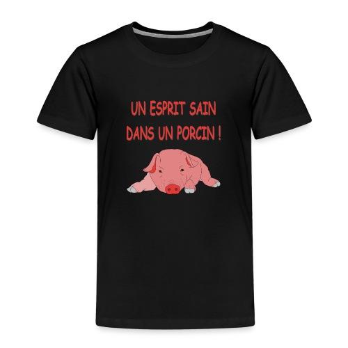 Porcitive Attitude - T-shirt Premium Enfant