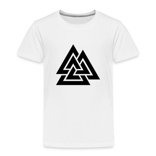 Valknute - Premium T-skjorte for barn