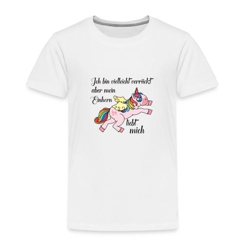 einhorn.png - Kinder Premium T-Shirt
