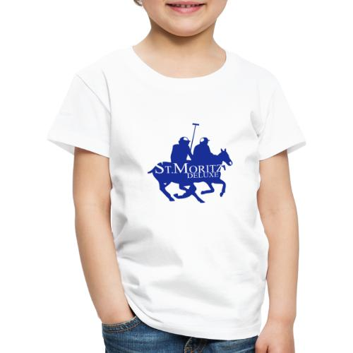 St-Moritz-Motiv 1 - Kinder Premium T-Shirt