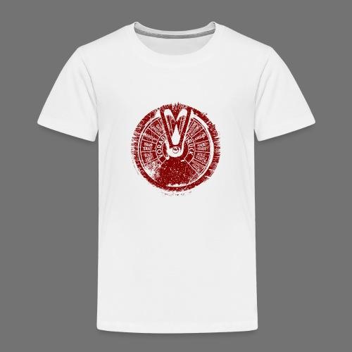Maschinentelegraph (punainen oldstyle) - Lasten premium t-paita