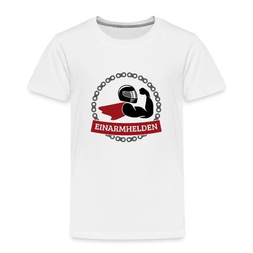 Einarmhelden 3-farbig - Kinder Premium T-Shirt