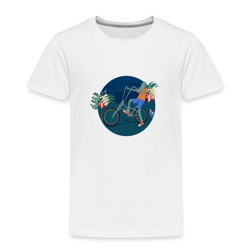 Bike Crocodile - Camiseta premium niño