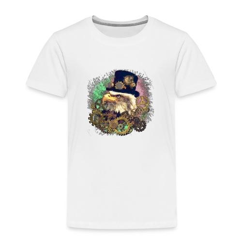 Steampunk Adler - Kinder Premium T-Shirt