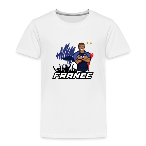 tee shirt france mbappé - T-shirt Premium Enfant