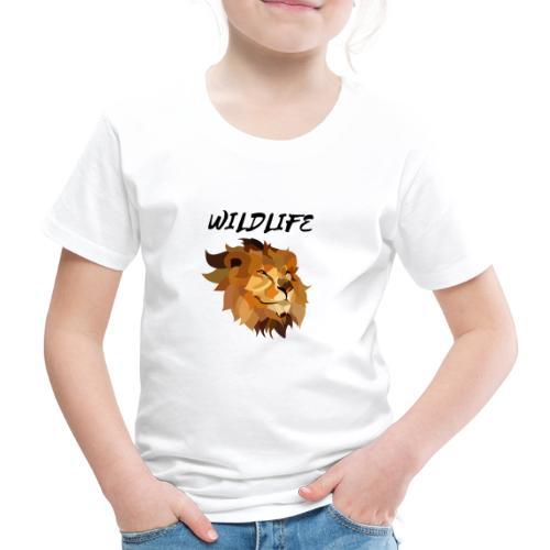 LION - wildlife - Koszulka dziecięca Premium