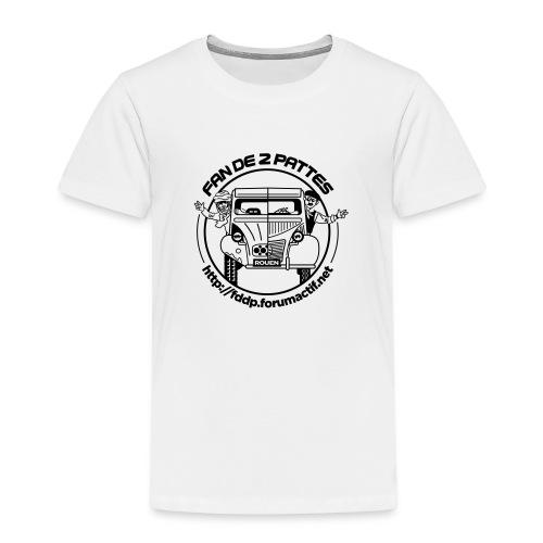logonoiretblanc - T-shirt Premium Enfant