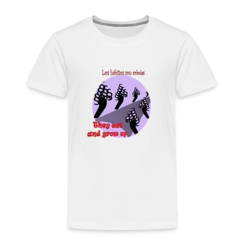 hábitos - Camiseta premium niño