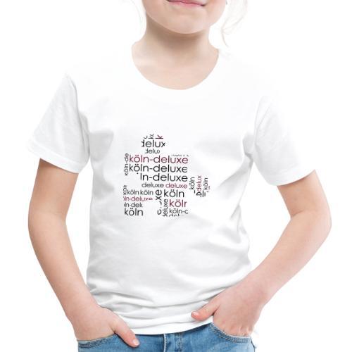 Köln Deluxe Puzzle Motiv - Kinder Premium T-Shirt